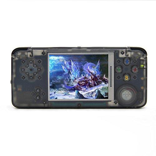 Videoconsola portátil, 3 pulgadas TFT HD pantalla 800 juegos clásicos, soporte GBA / GBC / GB / SFC / NEOGEO / SEGA / NES / CPS / GG / SMS, regalos de cumpleaños para amigos, niños, niños