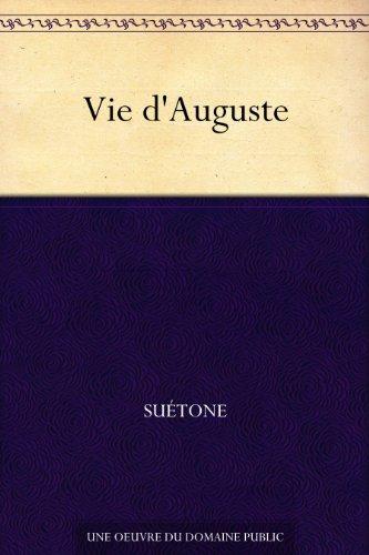 Couverture du livre Vie d'Auguste