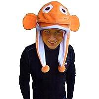 Gorro como disfraz de pez, F118,sombrero para hombres y mujeres!Disfraces de pescado de payaso Peces como carnaval Carnaval de carnaval de regalo,Disfraces de carnaval para adultos, Disfraces de grupo