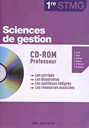 Sciences de gestion 1e STMG : CD-ROM professeur (1Cédérom)