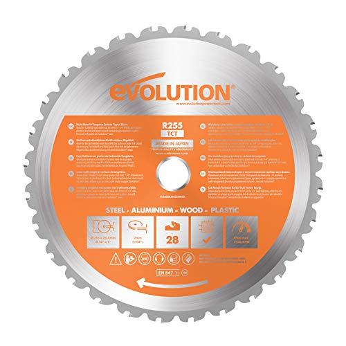 Evolution LAMERAGE Lame rage tct 255 mm, Orange