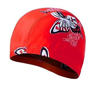 GTQC 2019 New Womans Swimming Cap Children Swimming Accessories Hats Mens Mask for Sun Water Sport Swim Cap Beach Summer 28 16 * 20cm