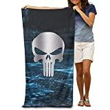 Funny&shirt Punisher Platinum Style Beach Towel 31