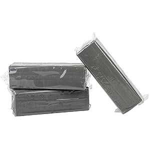 Becks Plastilin B101143 Industrieknete für Modellbau und Werkzeugbau, grau (1000 g)