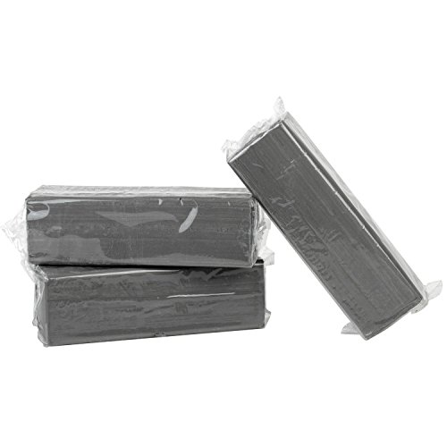 Preisvergleich Produktbild Becks Plastilin B101143 Industrieknete für Modellbau und Werkzeugbau, grau (1000 g)