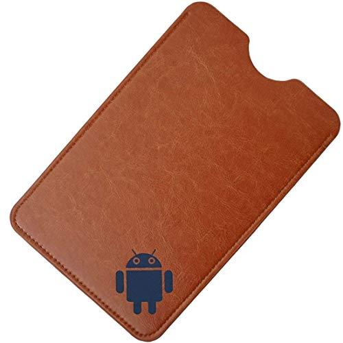 AKNICI 7,85-8 Zoll Sleeve Hülle - Ultra Dünn Schlank Slim Schutzhülle Beutel Tasche Case Cover für iPad Mini 7,85, Lenovo Tab4 8 Plus/Tab4 8, Samsung Galaxy Tab S2, Huawei MediaPad T3 8 Etc - Braun