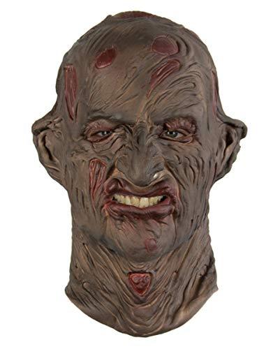 (Horror-Shop Freddy Krüger Burned Schaumlatex Maske)