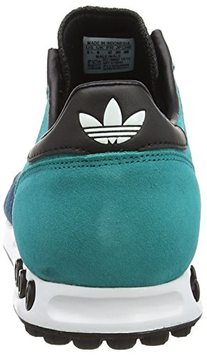 Adidas La Trainer, Sneakers Basses Homme Vert - Grün (Eqt Green S16/Mgh Solid Grey/Collegiate Orange)