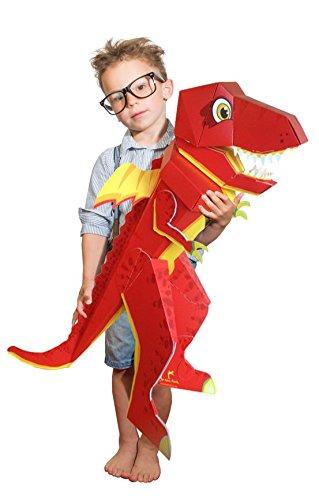 Patentierte Schultüte - Dino Schulrex - 100cm -...
