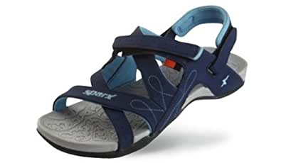 Sparx Women Casual Wear Blue Coloured Floaters Size 7 UK - SS431Blue-7