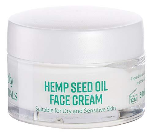 PREMIUM Crema Facial Con Aceite De Semilla De Cáñamo