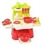 Iso Trade Kinderküche XS Spielküche für Puppen Kinderspielküche Spielzeugküche Küche #1306