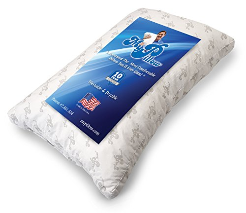 MyPillow Inc MyPillow Premium Series Bed Pillow, Standard/Queen, White Level (Medium) by