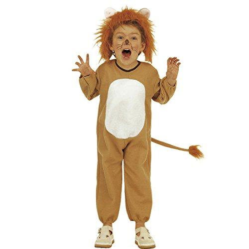 NET TOYS Löwenkostüm Kinder Löwe Kostüm 104 cm 2-3 Jahre König der Löwen Kinderkostüm Raubkatze Faschingskostüm Dschungel Tier Katzenkostüm Kind Safari Jumpsuit Wildkatze Tierkostüme Overall - König Löwe Kleinkind Kostüm