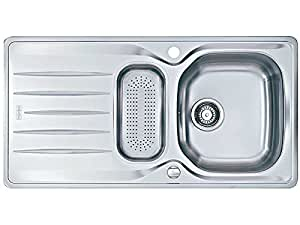 Franke Flush Mount Sink : Franke flush mount inset sink Libera LIX 251 smooth stainless steel ...