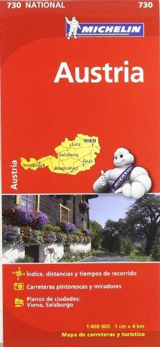 Mapa National Austria (Mapas National Michelin) por Vv.Aa