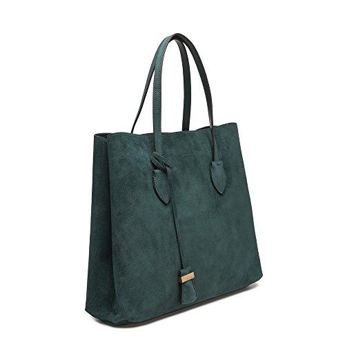 Coccinelle Celene Suede Handtasche green_green x forest, grün