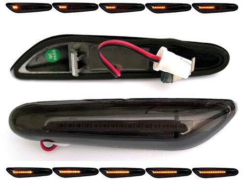 Preisvergleich Produktbild LED dynamische LED Seitenblinker Laufblinker mit E-Prüfzeichen (LED Seitenlaufblinker,  getönt)
