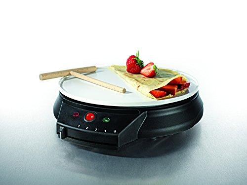 Gourmetmaxx 03112 professional crepe maker for homemade - Machine a crepe tefal ...
