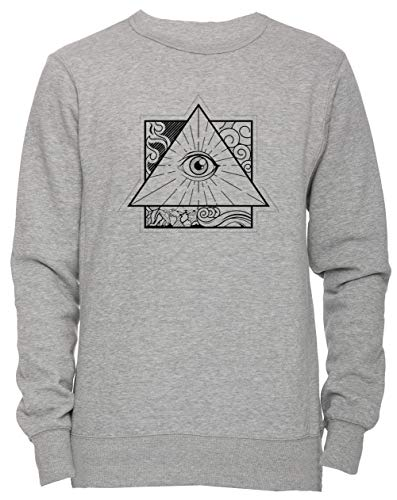 b04b75511 Erido All Seeing Eye - Eye Unisexe Homme Femme Sweat-Shirt Jersey Pull-Over