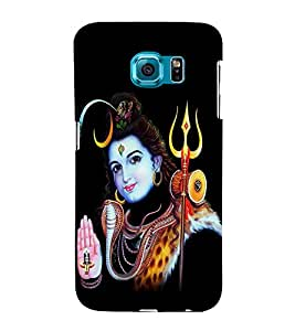 Bhagvan Shiv 3D Hard Polycarbonate Designer Back Case Cover for Samsung Galaxy Note 5 Edge