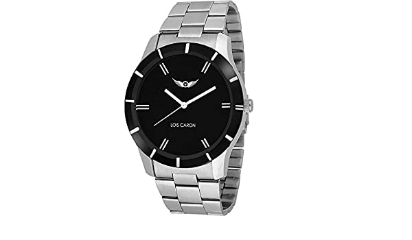 6be8bd56a Buy Lois Caron Analog Black Dial Men s Watch - (Lcs-4091) Online at Low  Prices in India - Amazon.in