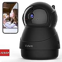 Victure 1080P Cámara IP WiFi,Cámara de Vigilancia FHD con Visión Nocturna,Cám...
