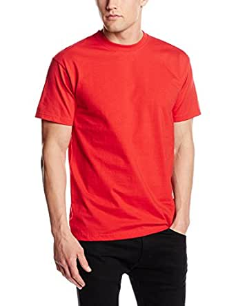 Fruit Of The Loom Men's SS021M Short Sleeve T-Shirt, Red, Small