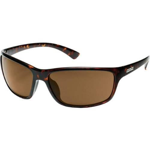 Suncloud Optics Sentry Injected Frames Polarized Designer Sunglasses/Eyewear - Tortoise/Brown