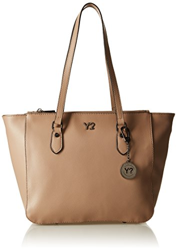 Y NOT? Shopping M, sac bandoulière Beige (Light Taupe)