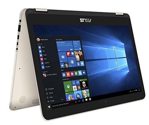Asus UX360CA-C4210T Laptop (Windows 10, 4GB RAM, 512GB HDD) Gold Price in India