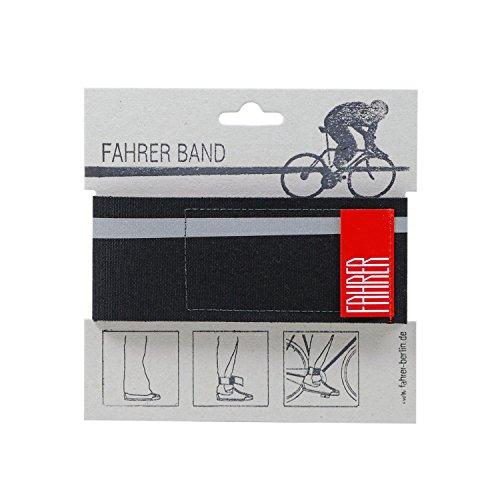 FAHRER BAND - schwarz | individuelles Reflektor Hosenband
