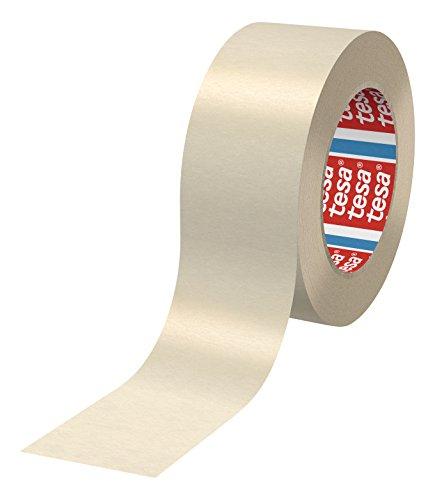 tesa-4317-Flachgekrepptes-Papierabdeckband-fr-Lackierarbeiten-mit-anschlieender-Trocknung-bis-80-Grad-Celcius-gewerbliches-Gebinde-mit-96-Rollen