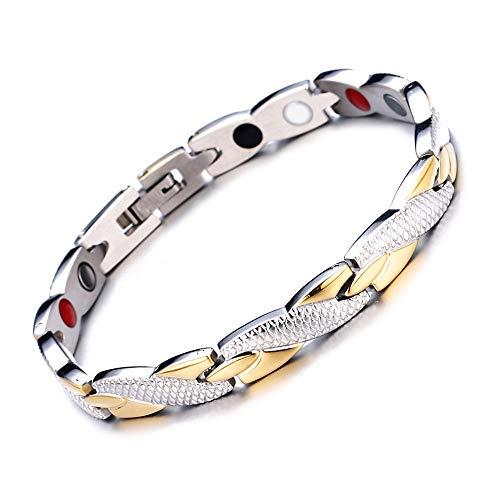 Kostüm Dance Dragon - Armband - Dragon Titanium Steel Armband Single Row Health Energy Armband Nicht-Mainstream-Design That Female Universal Gold