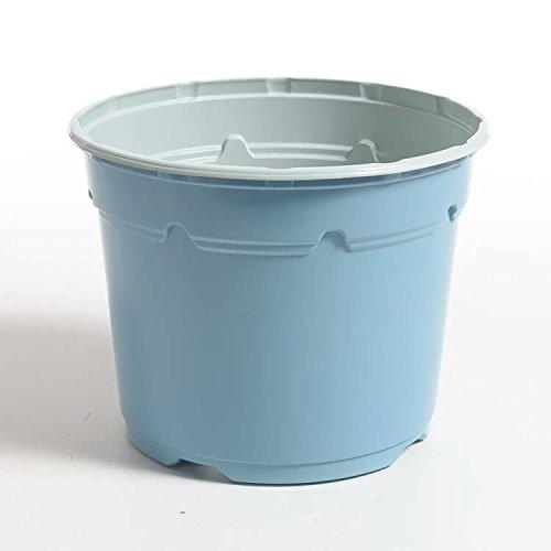 Pot horticole DUO 19 cm bleu clair (x 25)