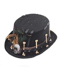 5a132ece980a88 Suchergebnis auf Amazon.de für  Halloween Totenkopf Hut  Bekleidung