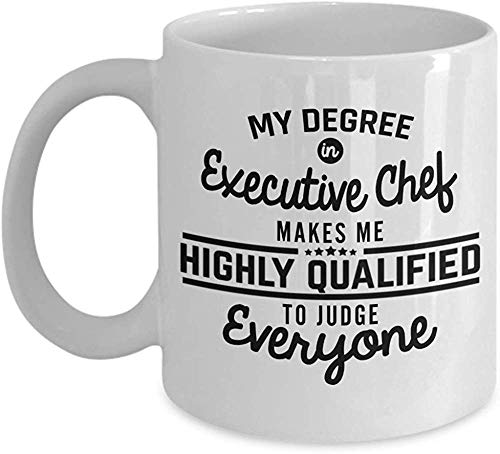Executive Chef Mug Coffee Mugs for Baker Women Bridal Gifts Cute Funny Wedding Cooking Baking Christmas Gift Best Gordon Ramsay Hallmark Channel - Aladdin Wedding Ring
