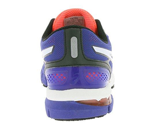 Asics–Scarpe da corsa navy/arancione