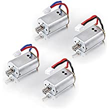 Czxin 4pcs Motor (Cw Ccw) Spare Parts for Syma X8c Venture Rc Quadcopter Drone