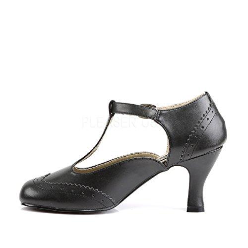 Higher-Heels , Peu femme Noir - Mattschwarz