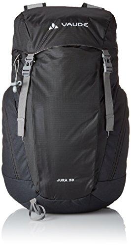 VAUDE Jura 20 - Macuto de senderismo color black, talla 20L