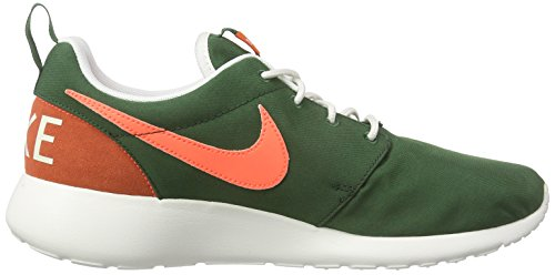 Nike Wmns Roshe One Retro, Baskets Basses Femme Vert - Grün (381 GORGE GREEN/BRGHT MANGO-SL-BLK)