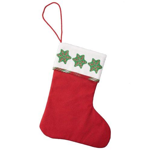 Hutschenreuther 02460-729128-05636 Weihnachtsleckereien Textil-Geschenk-Stiefel 27 x 36 cm, rot