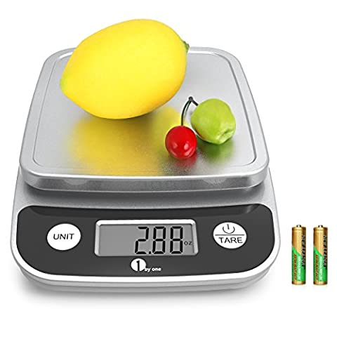 1byone Digital Kitchen Scale Precise Cooking Scale and Baking Scale,