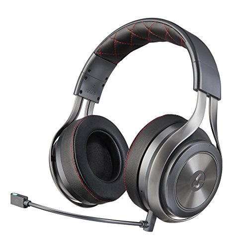 Lucid Sound LS40 Wireless Surround Gaming Headset - Kompatibel mit PS4, XBOX One, Switch, PC, Mac, Mobile Phones (Beach-stecker Xbox 360-turtle)