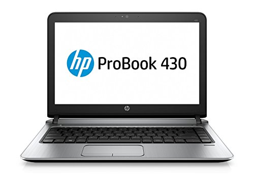 "HP P4N91EA ProBook 430 G3 Portatile, 13"", Intel Core i7-6500U, 8 GB RAM, 500 GB HDD, Intel HD Graphics, Argento"