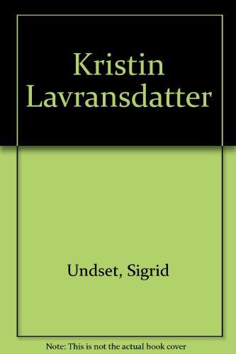 Kristin Lavransdatter [Pdf/ePub] eBook