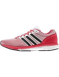 adidas Adizero Boston 5 Tsf W, Chaussures de Running Entrainement Femme, Red