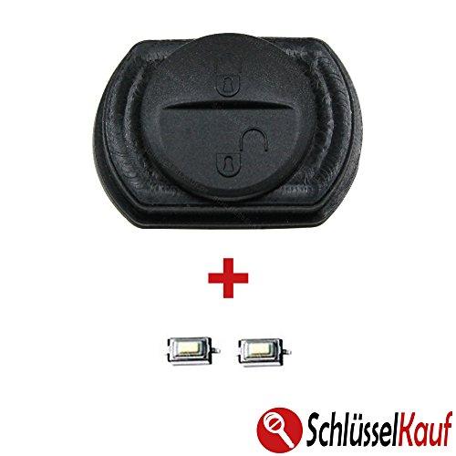 mitsubishi-colt-smart-forfour-454-schlussel-gummi-tastenfeld-2x-mikrotaster-neu