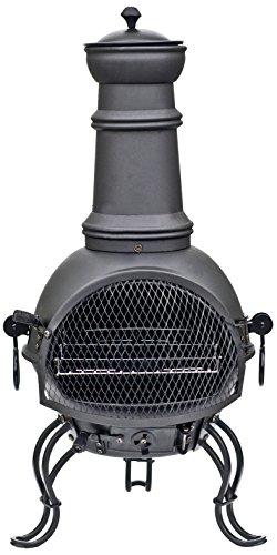*RedFire Kamin Ofen Cadiz 85 cm schwarz, Stahl*